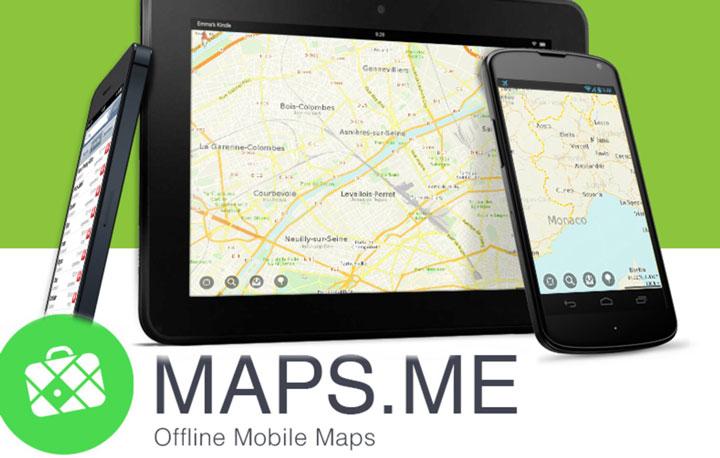 Туристические маршруты по Парижу — метки для Maps Me